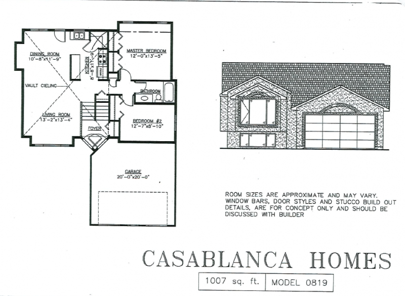 amazing cabover house plans #4: Model #1007A2